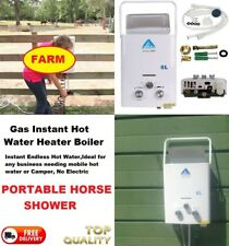 MOBILE HOT WATER BOILER HEATER PORTABLE INSTANT HORSE SHOWER - STABLE EQUESTRIAN