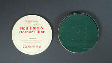 AMACO Wood Picture Frame Nail Hole and Corner Filler 2 OZ. Turquoise
