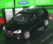 WELLY NEX MODELS VOLKSWAGEN VW GOLF GTI PC BOX DIECAST METAL SCALE 1:87 NEW OVP