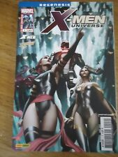 * X-MEN UNIVERSE 2 * aout 2012 MARVEL XMEN VF PANINI COMICS RAPPROCHEMENTS