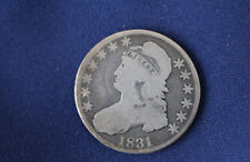 1831 Capped Bust Silver Half Dollar Great Type Coin M1018