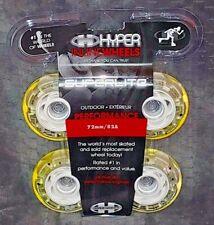 4 NEW Outdoor 72MM 82A Superlite Outdoor Urethane RollerBlade Hyper SKATE WHEELS