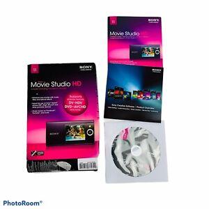Sony Vegas Movie Studio HD DVD Supports DV HDV DVD AVCHD Share Online Enhance