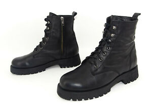 INUOVO Schuhe Stiefel Stiefeletten Plateau Boots Damenstiefel Leder Gr. 39