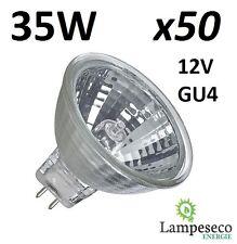 50 Ampoules dichroique halogène à économie d'énergie MR11 GU4 12V 35W (25W)