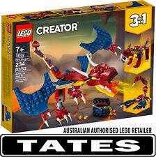 LEGO 31102 Fire Dragon CREATOR from Tates Toyworld