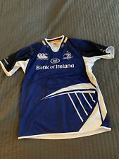 Mens CANTERBURY Blue Bank Of Ireland Leinster Rugby Jersey  Sz XL