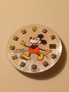 Quadrante Aftermarket Mickey Mouse Per Rolex Date Just 36mm