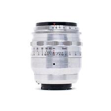 Carl Zeiss Tessar 80mm f/2.8 Red T 16 blades Preset Lens Exakta Mount