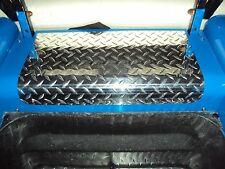 Ezgo Marathon Golf Cart Diamond Plate Access Panel Cover custom look wow