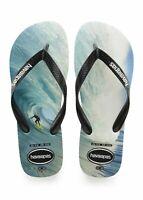 HAVAIANAS Photoprint THE RIGHT Black / Black SURF Thongs Sandals Flip Flops