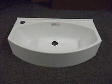 Elddis Caravan Motorhome Bathroom White L/H Plastic Vanity Sink SN17