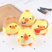 1Pc Stuffed Chicken Toy Doll , Plush Gift key chain Wedding Bouquet Flower GX4_N