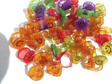 Glitter Smile Face Rings Lot 0F 144 Carnivals Party Toy