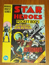 MARVEL DIGEST SERIES STAR HEROES #1 MICRONAUTS BRITISH POCKET BOOK