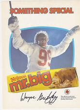 1982-83 NEILSON MR. BIG WAYNE GRETZKY PROMO AD FLYER OILERS KINGS RANGERS WHA