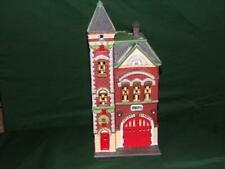 """Dept 56 -Christmas In The City-""""Red Brick Fire Station""""-Mib"""