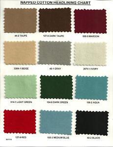 AUSTIN 16 1945/1946/1947/1948/1949 4-DOOR SUNROOF MODEL CLOTH HEADLINER NEW