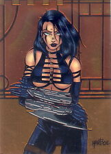 RAZOR 1996 KROME PRODUCTIONS CHROMIUM PROMO CARD P6