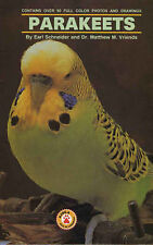 NEW A Beginners Guide to Parakeets by Nikki Moustaki