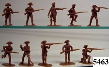 Armies In Plastic 5463 - US Revolution U.S. Militia Figures-Wargaming Kit