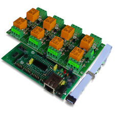Internet/Ethernet Eight Channel Relay Board: Web TCP/IP Telnet E-mails HTTP API