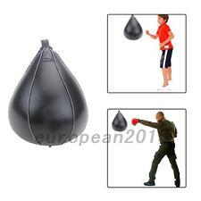 Poire De Vitesse Sac De Frappe Speedball Boxe Ballon De Boxe En Cuir