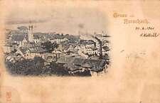 Rorschach Canton of St Gallen Switzerland Gruss aus antique pc Y15760