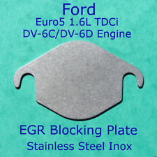 EGR Blanking Plate Ford TDCi Euro 5 1.5L 1.6L 8 Valve Fiesta Focus Connect