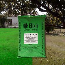 25kg Fine Lawn Sand | Moss Killer | Grass / Turf Fertiliser | Ferrous Sulphate