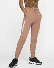 Nike Sportkleidung Damen Tech Fleece Hose XL Rose Rosa Gold Jogginghose