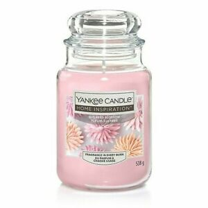 YANKEE CANDLE Home Inspiration SUGARED BLOSSOM LARGE JAR New