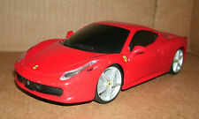 1/24 Scale Ferrari 458 Italia Plastic Model - Red Sports Car 1:24 Maisto Replica