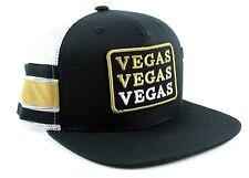 American Needle Vegas Golden Knights Rerun Mesh Trucker Adjustable Snapback Hat