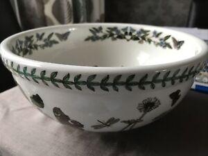 Vintage Portmeirion Botanic Garden Passiflora Caerulea Large Serving Bowl29cm