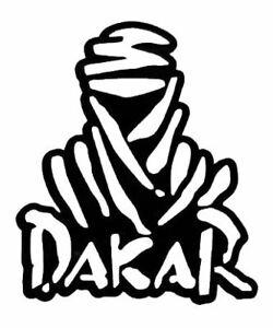 Dakar Pack of 2 vinyl Decals for your car, motor bike, study or office