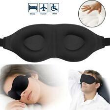 3D Eye Cover  Eyepatch Shade Blindfold Sponge Travel Sleep Memory Foam Padded