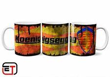 Koenigsegg Distressed Look Mug And Coaster Gift Set