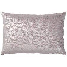 Lene Bjerre Kissen Violett-Grau 60 x 40 cm Samt Baumwolle