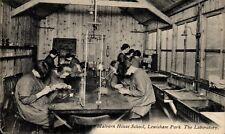Lewisham. Malvern House School.The Laboratory by P.A.Buchanan.