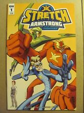 Stretch Armstrong and the Flex Fighters #1 IDW 2018 Series Variant 9.6 NM+
