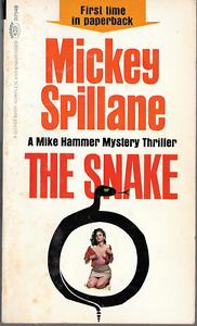 Mickey Spillane: The Snake Mike Hammer PB 1964 1st Print Signet