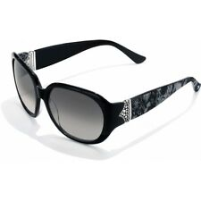 "Brighton ""Gypsy Woman"" Black Sunglasses - Silver and Python Accents - New $110"