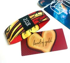 ZOX **HEART OF GOLD** Silver Strap med Wristband w/Card New Mystery Pack
