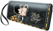 Cartera De Mujer Betty Boop Largo Leopardo 46414