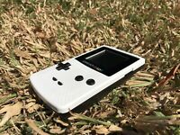 Nintendo GameBoy Color - Refurbished Colour Game Boy Handheld GBC Black White