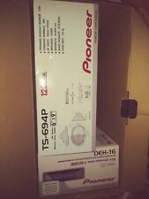 New listing New Pioneer Ts-694P 6x9 speakers and Pioneer Deh-16 Stereo