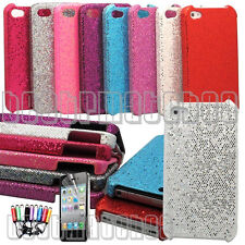 for iphone 4 4s glittery sparkly case hot pink blue silver purple + \\/////