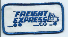 Freight Express Co truck driver patch 2 X 3-1/8 #2022