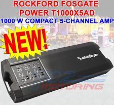 NEW ROCKFORD FOSGATE POWER T1000X5AD 5-CHANNEL AMPLIFIER 1,000 WATT CLASS-AD